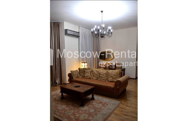 """Photo #1 3-room (2 BR) apartment for <a href=""""http://moscow-rentals.ru/en/articles/long-term-rent"""" target=""""_blank"""">a long-term</a> rent  in Russia, Moscow, Zvonarskyi lane, 1"""