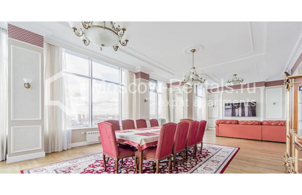 """Photo #7 5-room (4 BR) apartment for <a href=""""http://moscow-rentals.ru/en/articles/long-term-rent"""" target=""""_blank"""">a long-term</a> rent  in Russia, Moscow, Shabolovka str, 10 к 1"""