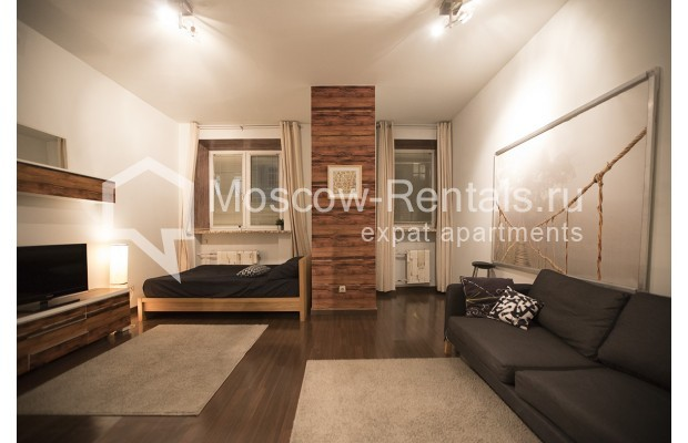 """Photo #5 2-room (1 BR) apartment <u>for a long-term rent</u> (<a href=""""http://moscow-rentals.ru/en/articles/long-term-rent"""" target=""""_blank"""">FAQ</a>)    in Russia, Moscow, Glinishchevskyi lane,  5/7"""