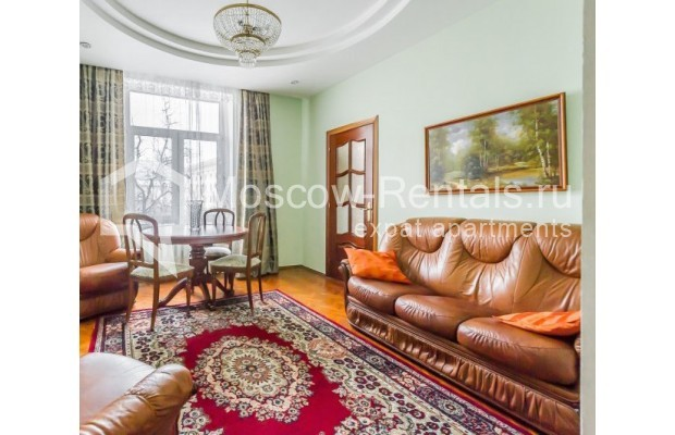 "Photo #1 3-room (2 BR) apartment for <a href=""http://moscow-rentals.ru/en/articles/long-term-rent"" target=""_blank"">a long-term</a> rent  in Russia, Moscow, Ermolaevskyi lane, 18А"