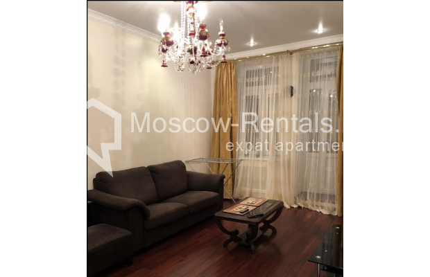 """Photo #4 3-room (2 BR) apartment for <a href=""""http://moscow-rentals.ru/en/articles/long-term-rent"""" target=""""_blank"""">a long-term</a> rent  in Russia, Moscow, Vasilievskaya str, 4"""