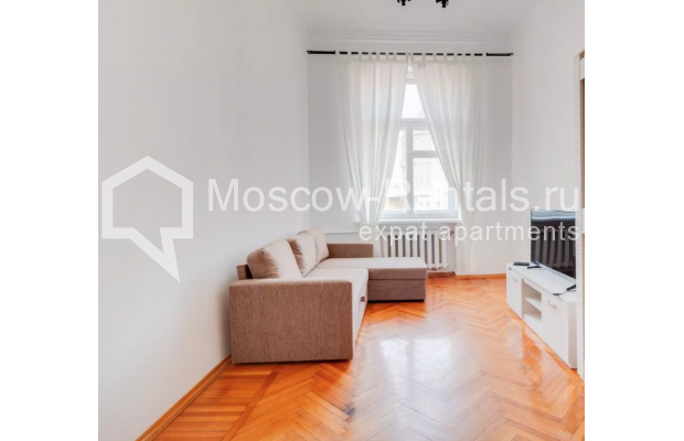 "Photo #1 2-room (1 BR) apartment for <a href=""http://moscow-rentals.ru/en/articles/long-term-rent"" target=""_blank"">a long-term</a> rent  in Russia, Moscow, Brusov lane, 8-10С1"