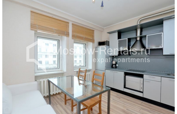 "Photo #1 2-room (1 BR) apartment for <a href=""http://moscow-rentals.ru/en/articles/long-term-rent"" target=""_blank"">a long-term</a> rent  in Russia, Moscow, Tverskaya str, 6С1"