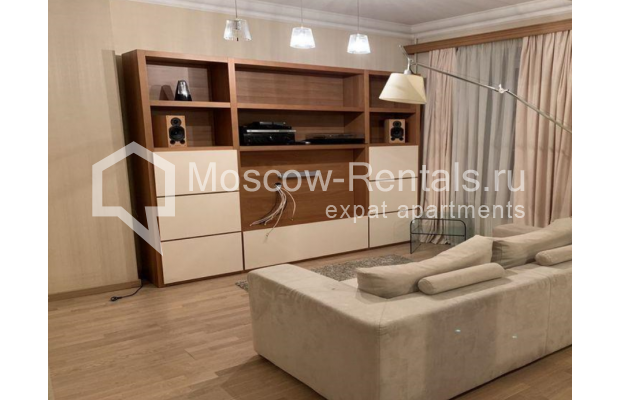"""Photo #1 1-room apartment/ Sudio for <a href=""""http://moscow-rentals.ru/en/articles/long-term-rent"""" target=""""_blank"""">a long-term</a> rent  in Russia, Moscow, Mashkova str, 8"""