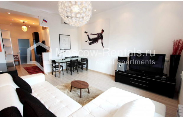 "Photo #1 2-room (1 BR) apartment for <a href=""http://moscow-rentals.ru/en/articles/long-term-rent"" target=""_blank"">a long-term</a> rent  in Russia, Moscow, Tverskaya str, 4"