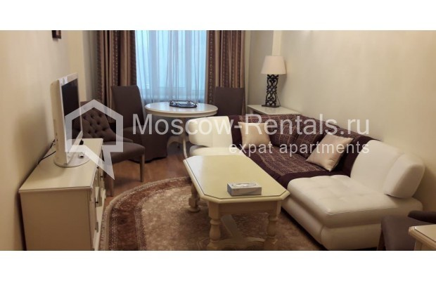 """Photo #1 3-room (2 BR) apartment for <a href=""""http://moscow-rentals.ru/en/articles/long-term-rent"""" target=""""_blank"""">a long-term</a> rent  in Russia, Moscow, Tverskaya str, 17"""