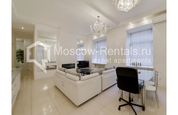 "Photo #1 3-room (2 BR) apartment for <a href=""http://moscow-rentals.ru/en/articles/long-term-rent"" target=""_blank"">a long-term</a> rent  in Russia, Moscow, Zvonarskyi lane, 1"