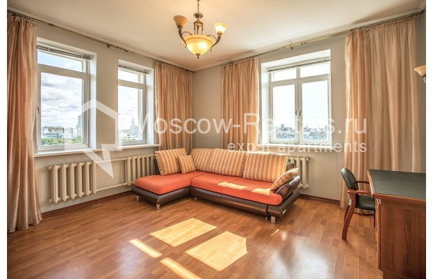 "Photo #8 3-room (2 BR) apartment for <a href=""http://moscow-rentals.ru/en/articles/long-term-rent"" target=""_blank"">a long-term</a> rent  in Russia, Moscow, Gilyarovskogo str, 4К1"