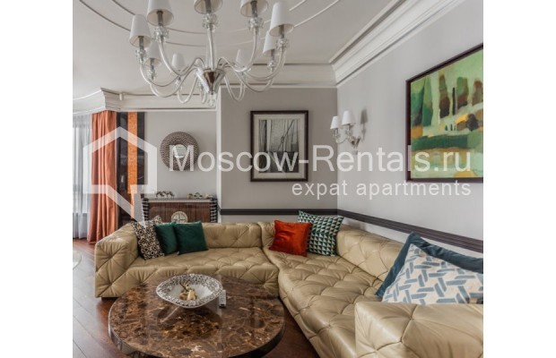 "Photo #7 4-room (3 BR) apartment for <a href=""http://moscow-rentals.ru/en/articles/long-term-rent"" target=""_blank"">a long-term</a> rent  in Russia, Moscow, B. Tishinskyi lane, 10С1"