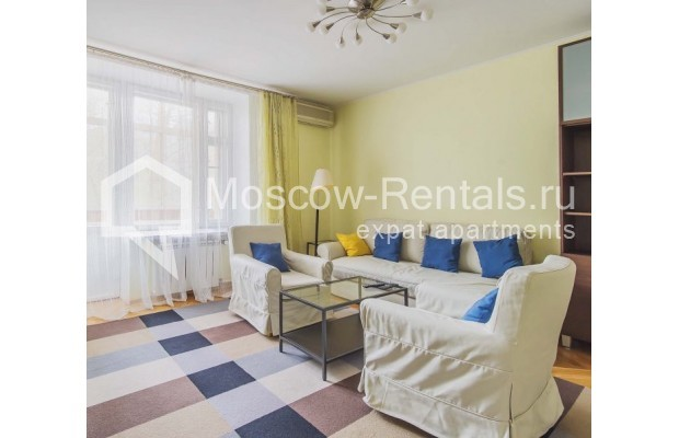 """Photo #1 3-room (2 BR) apartment for <a href=""""http://moscow-rentals.ru/en/articles/long-term-rent"""" target=""""_blank"""">a long-term</a> rent  in Russia, Moscow, B. Afanasievskyi lane, 35-37С4"""
