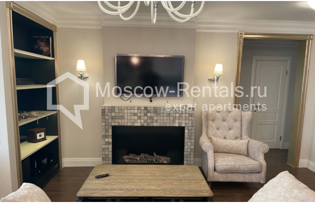 """Photo #5 3-room (2 BR) apartment for <a href=""""http://moscow-rentals.ru/en/articles/long-term-rent"""" target=""""_blank"""">a long-term</a> rent  in Russia, Moscow, Gruzinskyi val, 14"""