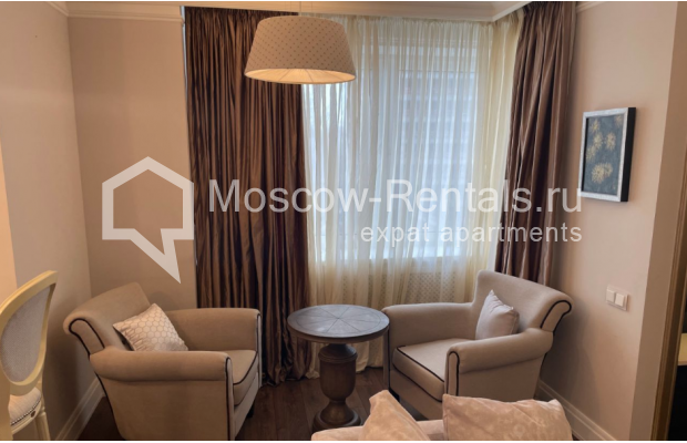 """Photo #6 3-room (2 BR) apartment for <a href=""""http://moscow-rentals.ru/en/articles/long-term-rent"""" target=""""_blank"""">a long-term</a> rent  in Russia, Moscow, Gruzinskyi val, 14"""