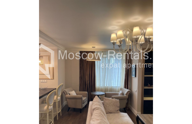 """Photo #4 3-room (2 BR) apartment for <a href=""""http://moscow-rentals.ru/en/articles/long-term-rent"""" target=""""_blank"""">a long-term</a> rent  in Russia, Moscow, Gruzinskyi val, 14"""