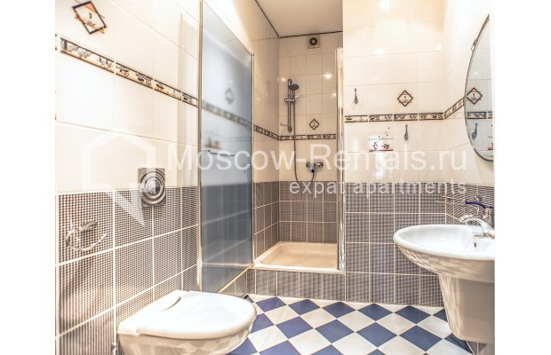 """Photo #22 4-room (3 BR) apartment for <a href=""""http://moscow-rentals.ru/en/articles/long-term-rent"""" target=""""_blank"""">a long-term</a> rent  in Russia, Moscow, Krasnoproletarskaya str, 7"""
