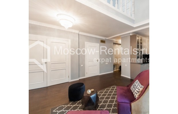 """Photo #2 4-room (3 BR) apartment for <a href=""""http://moscow-rentals.ru/en/articles/long-term-rent"""" target=""""_blank"""">a long-term</a> rent  in Russia, Moscow, Nashchokinskyi lane, 5С5"""