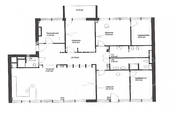 Photo #17 4-room (3 BR) apartment for sale in Russia, Moscow, 3rd Tverskaya-Yamskaya str, 10