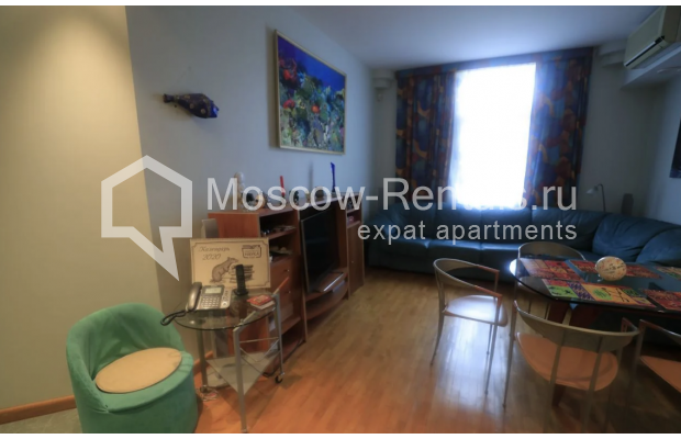 """Photo #4 3-room (2 BR) apartment for <a href=""""http://moscow-rentals.ru/en/articles/long-term-rent"""" target=""""_blank"""">a long-term</a> rent  in Russia, Moscow, Nikitskyi blv, 7Б"""