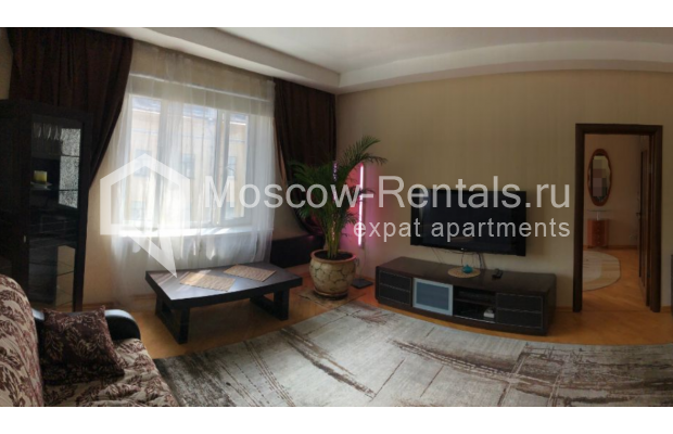 """Photo #1 3-room (2 BR) apartment for <a href=""""http://moscow-rentals.ru/en/articles/long-term-rent"""" target=""""_blank"""">a long-term</a> rent  in Russia, Moscow, Gazetnyi lane, 1/12"""