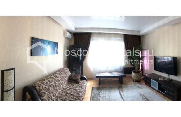 """Photo #3 3-room (2 BR) apartment for <a href=""""http://moscow-rentals.ru/en/articles/long-term-rent"""" target=""""_blank"""">a long-term</a> rent  in Russia, Moscow, Gazetnyi lane, 1/12"""