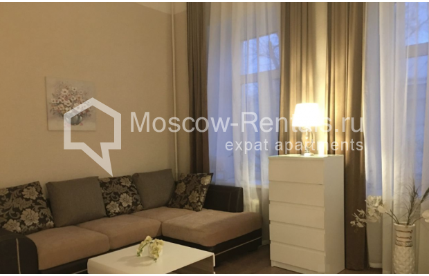 """Photo #2 3-room (2 BR) apartment for <a href=""""http://moscow-rentals.ru/en/articles/long-term-rent"""" target=""""_blank"""">a long-term</a> rent  in Russia, Moscow, Chistyi lane, 5А"""
