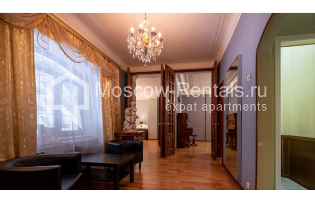 """Photo #8 3-room (2 BR) apartment for <a href=""""http://moscow-rentals.ru/en/articles/long-term-rent"""" target=""""_blank"""">a long-term</a> rent  in Russia, Moscow, B. Gruzinskaya str, 36С3"""