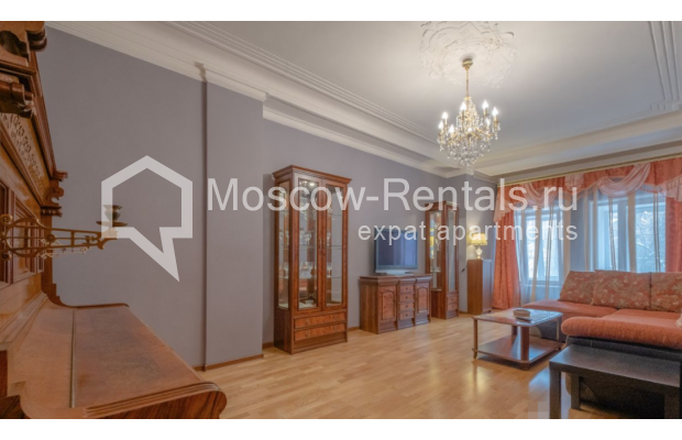 """Photo #3 3-room (2 BR) apartment for <a href=""""http://moscow-rentals.ru/en/articles/long-term-rent"""" target=""""_blank"""">a long-term</a> rent  in Russia, Moscow, B. Gruzinskaya str, 36С3"""
